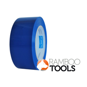 Blue Dolphin Tarp & Stucco Window Tape (Blue) - 30 Days 48mm x 50m-0