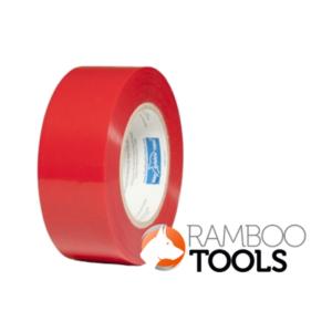 Blue Dolphin Tarp & Stucco Window Tape (Red) - 60 Days 48mm x 50m-0