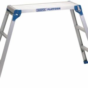 Draper 71399 3 step aluminium work platform hop up-0