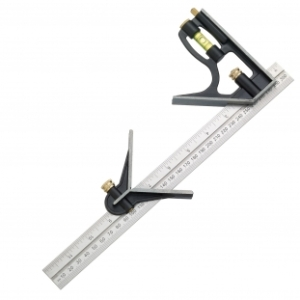 Fisher 12inch 300mm Combination Square w/head-0