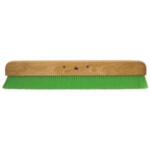 "Kraft CC456-01 36"" Green Nylex® Soft Bristle Concrete Finish Broom -0"