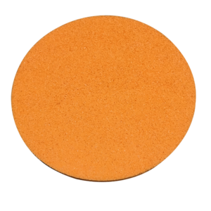 Replacement Velcro Sponge Disc Orange Course for power float -0