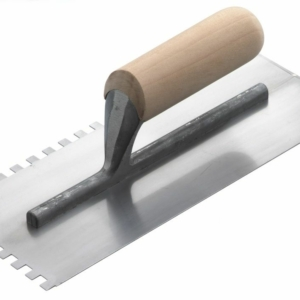 RST Notched Trowel with Wooden Handle-0
