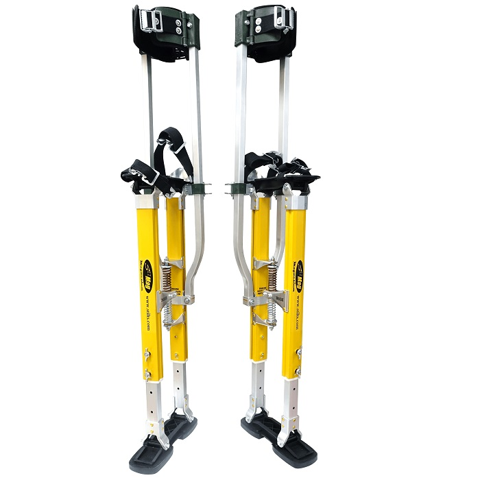 "Sur Pro Quadlock Double Sided Plastering/Drylining Stilts Magnesium 18""-30"" -0"