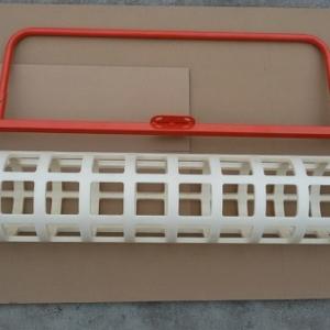 "48"" Plastic Roller for Grooving Concrete -0"